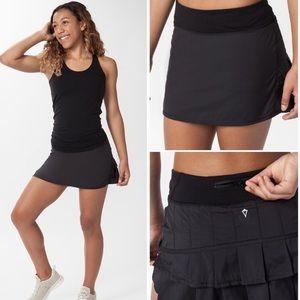 Ivivva Lululemon Girls Set The Pace Skirt Tennis